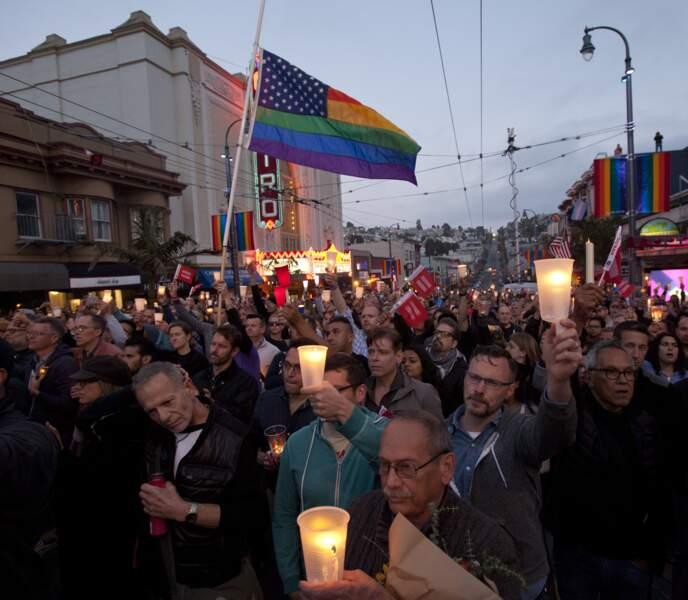Marche silencieuse à San Francisco