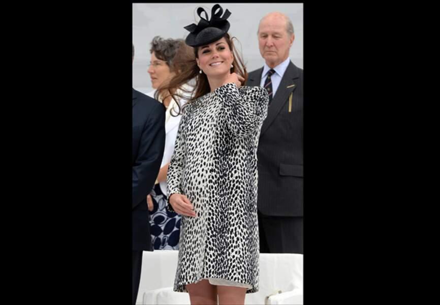 13 juin 2013 - Un manteau impression dalmatien Hobbs