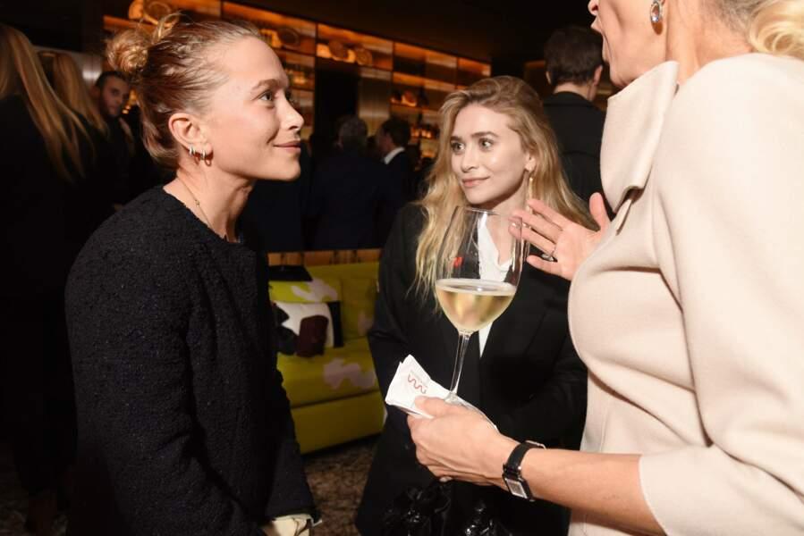 Ashley Olsen, la soeur jumelle de Mary-Kate Olsen était également présente