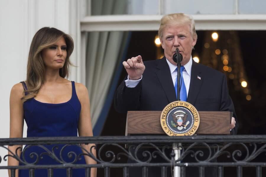Melania Trump a une fois de plus attiré toute l'attention