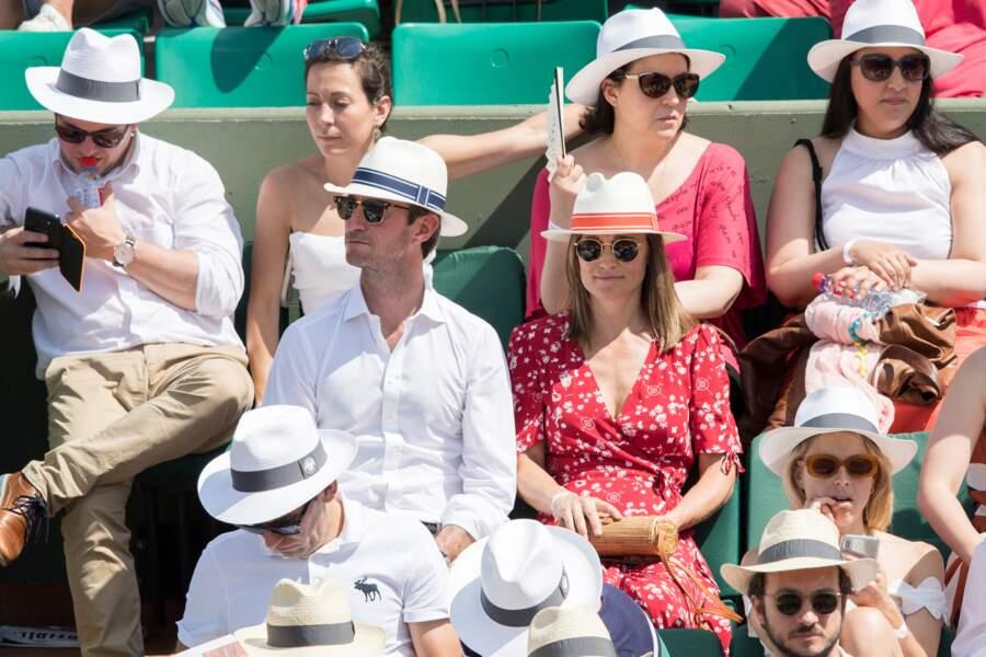 Pippa Middleton et son mari très heureux de profiter de l'évènement
