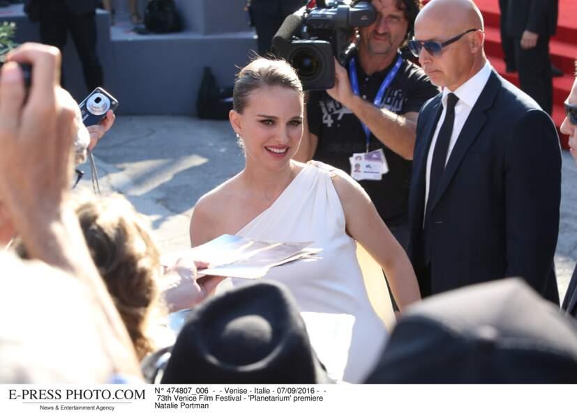 73th Festival du film de Venise -  premiere de  'Planetarium' Natalie Portman enceinte