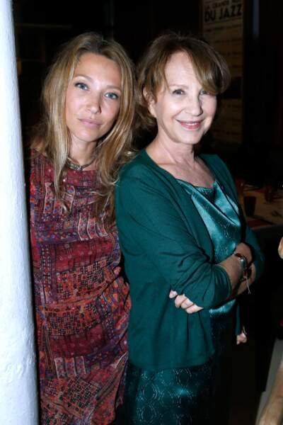 Laura Smet et Nathalie Baye lors du dîner en son honneur
