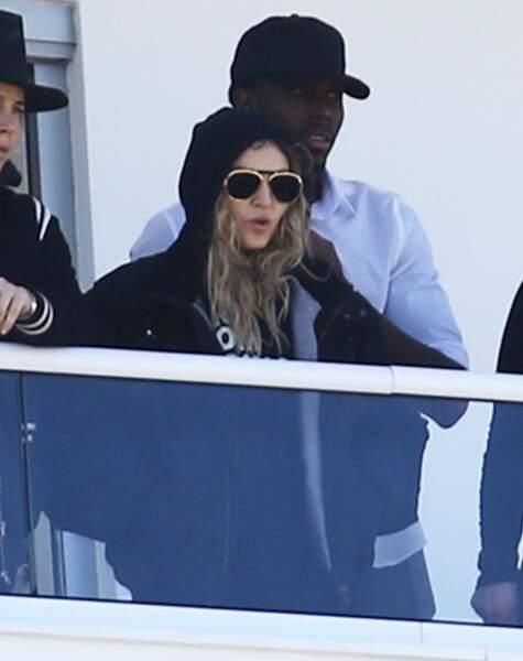 Madonna et son boyfriend, Aboubakar Brooklin Soumahoro, en 2016 à Miami