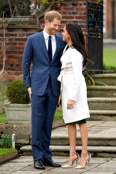 Le prince Harry et Meghan Markle se sont fiancés ce lundi 27 novembre