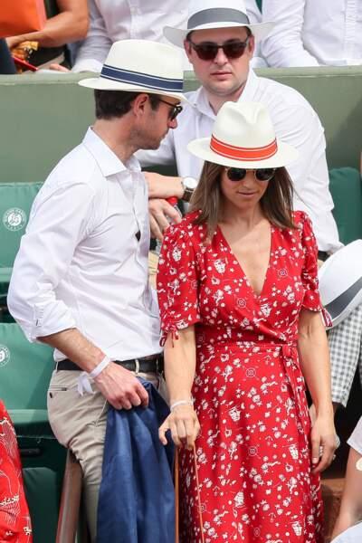 Pippa Middleton attend son premier enfant