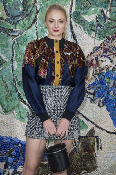 Sophie Turner, la star de Game of Thrones et ambassadrice de Louis Vuitton