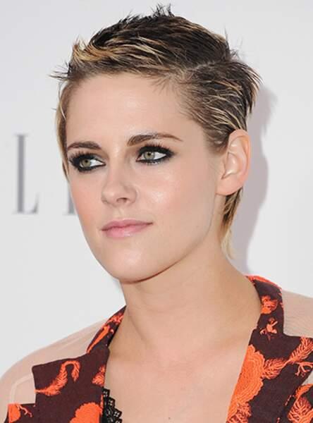 La coupe garçonne rock de Kristen Stewart