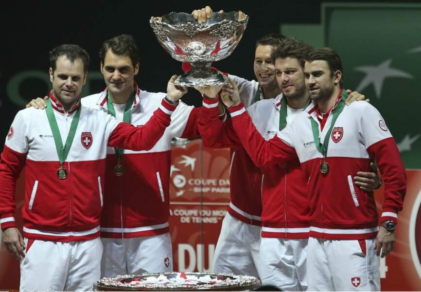 Dimanche, la Suisse a remporté sa première Coupe Davis, à Lille