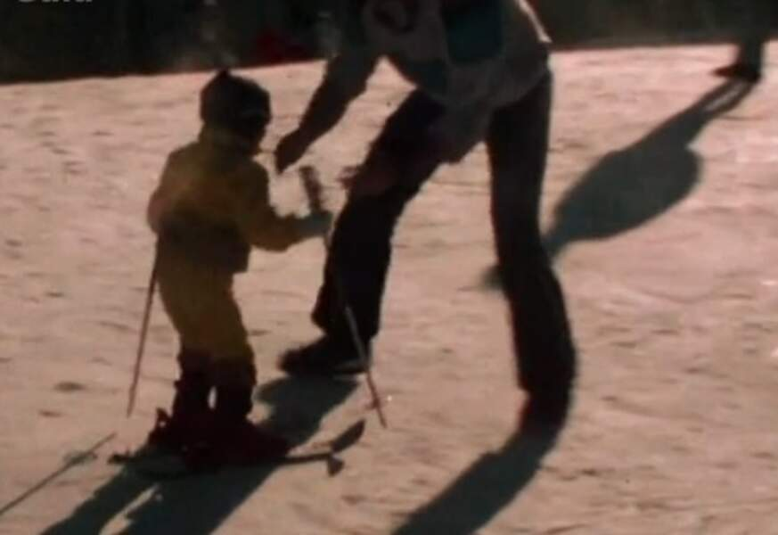 Grégory Lemarchal au ski