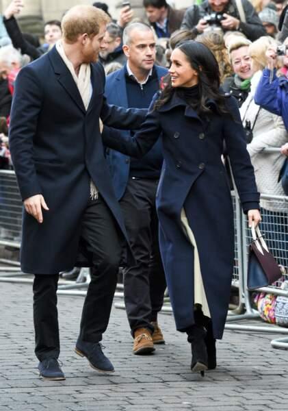 """Le prince Harry et Meghan Markle se rendaient au """"Nottingham Contemporary"""""""