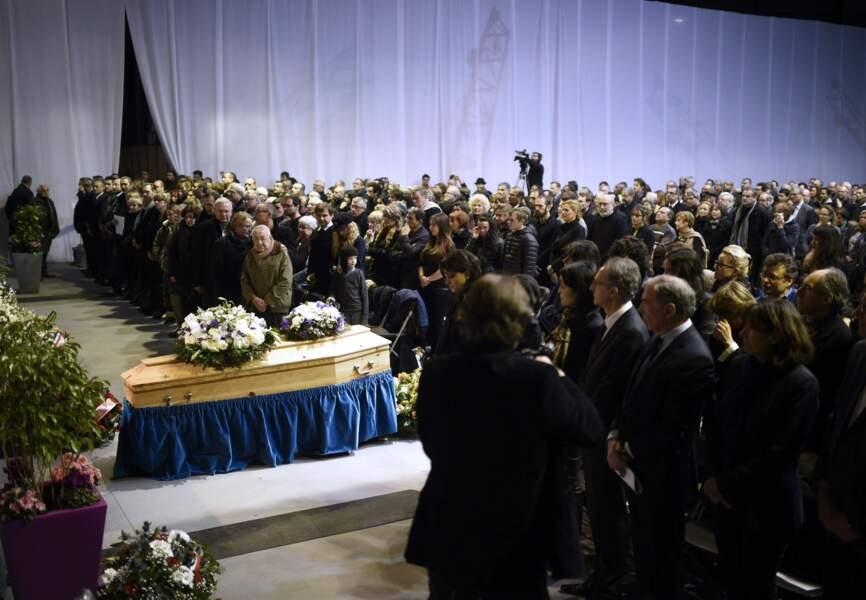 Des centaines de personnes sont venus rendre hommage à Charb