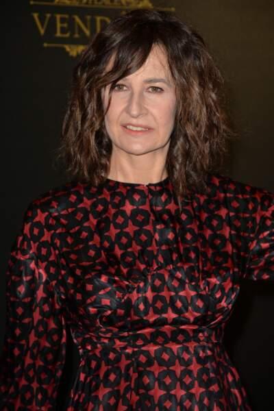 Valérie Lemercier  le 1er octobre 2017
