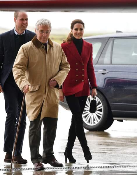 Bonne élève du clan Windsor, Kate Middleton a été récemment nommée Dame grand-croix de l'ordre royal de Victoria