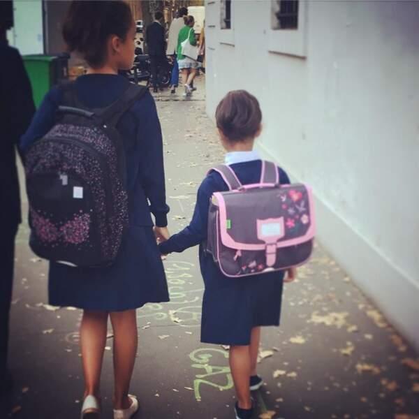 Tess et Kahina, les filles de Sonia Rolland