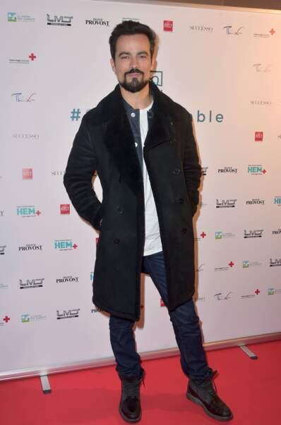 Damien Sargue en 2016