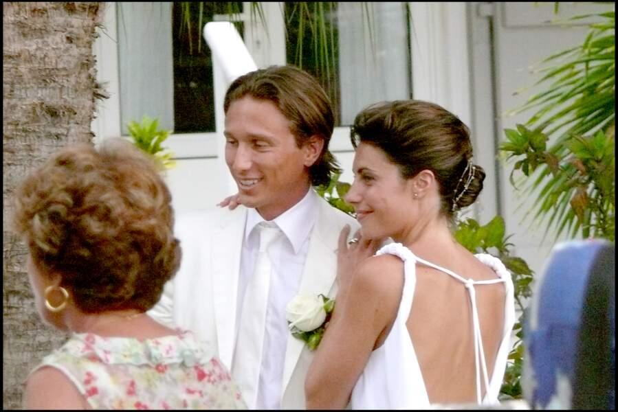Alessandra Sublet, heureuse et amoureuse auprès de son jeune mari Thomas Volpi