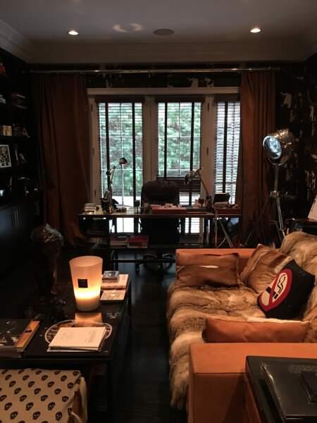 Le bureau de Johnny Hallyday à Los Angeles