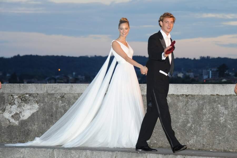 Fin juillet le gratin de Monaco célébrait le mariage de Pierre Casiraghi et Béatrice Borromeo