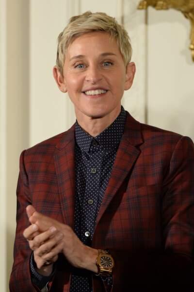 L'animatrice et humoriste Ellen DeGeneres a eu 61 ans ce 26 janvier 2019
