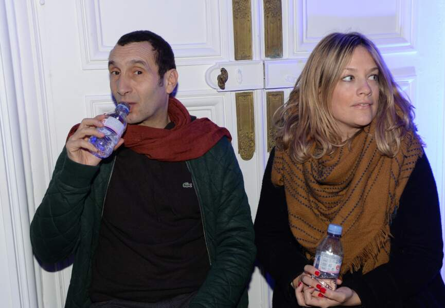 Zinedine Soualem et sa compagne
