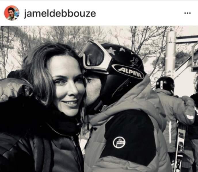 Jamel Debbouze et Mélissa Theuriaux