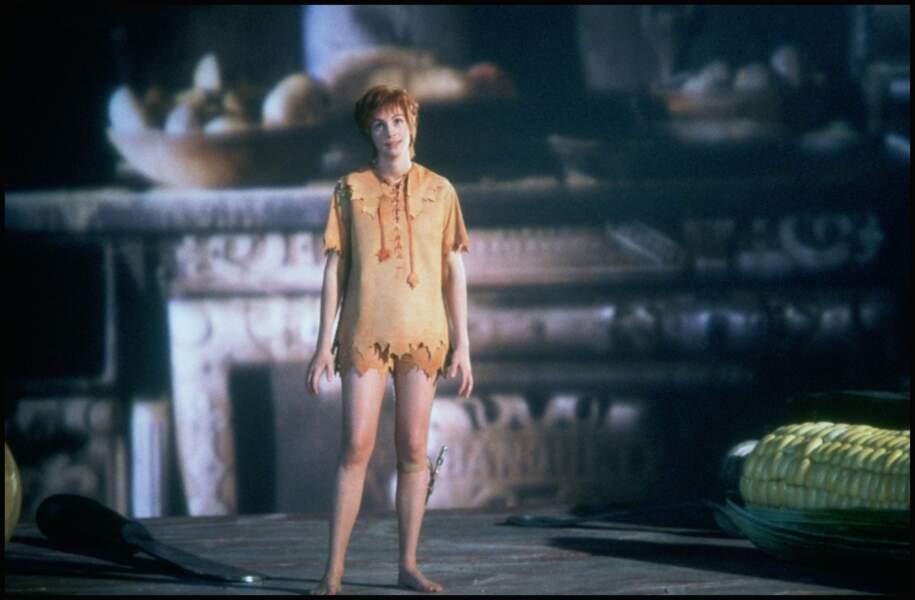 """Elle interprète la Fée Clochette dans le film """"Hook"""" de Steven Spielberg en 1991"""