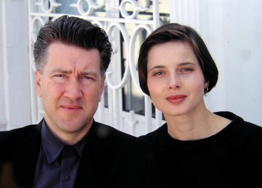 David Lynch et Isabella Rossellini  (1990)