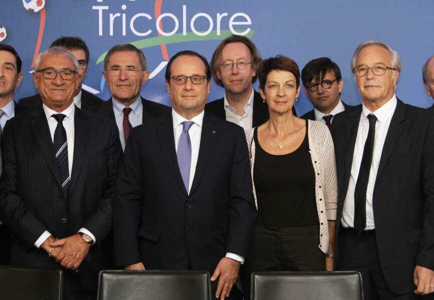 François Hollande à l'UEFA