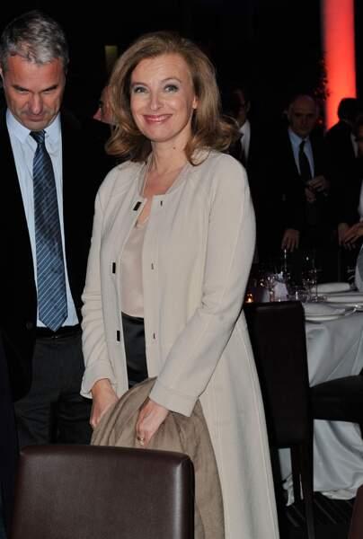 Valerie Trierweiler au diner de gala caritatif 'Action contre la faim'