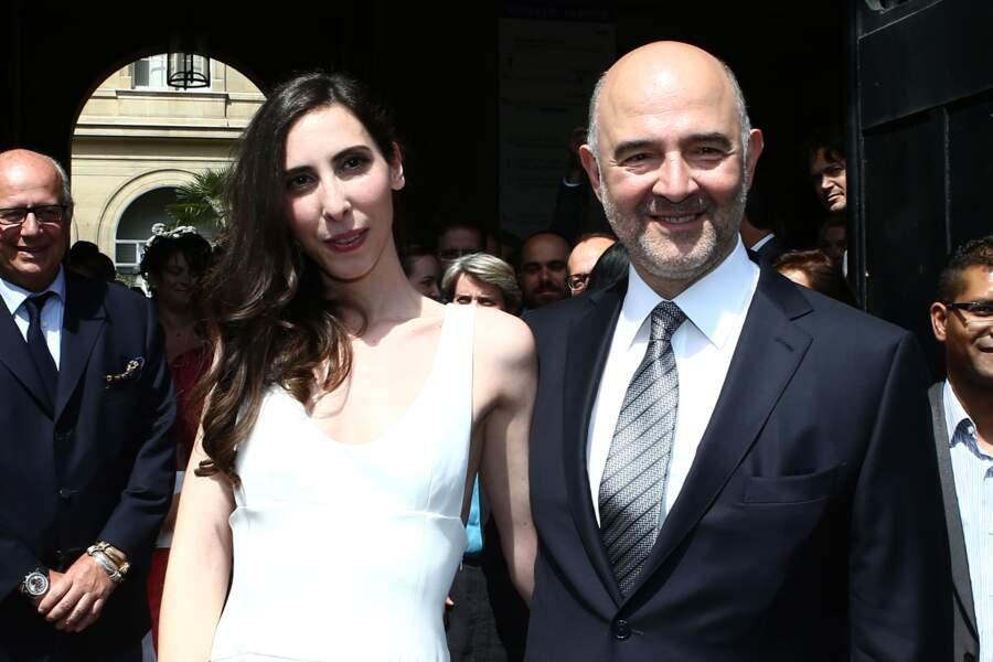 Pierre Moscovici et Anne-Michelle Basteri se sont dit oui à Paris au mois de juin