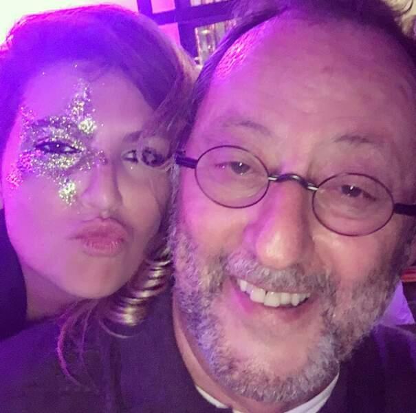 Isabelle Furnaro et Jean Reno, ambiance disco