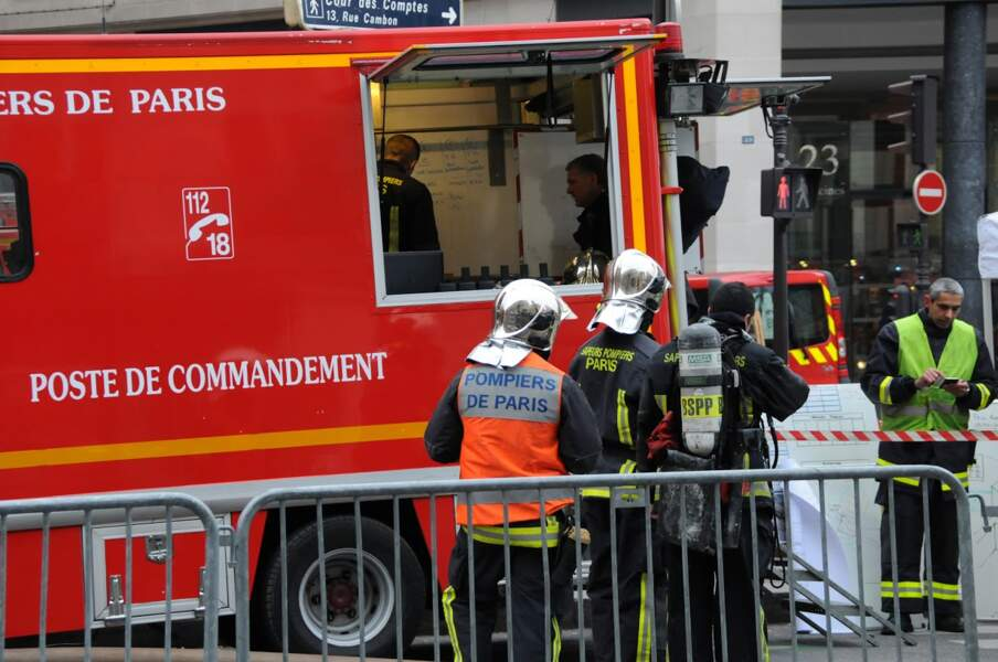 Ce mardi 19 janvier, un incendie s'est déclaré au Ritz, une soixantaine de Sapeurs Pompiers ont été déployés