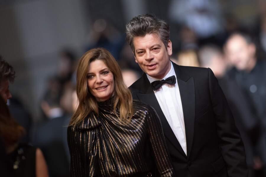 Chiara Mastroianni et Benjamin Biolay, chic et charmants au 72e Festival de  Cannes, le 19 mai 2019.