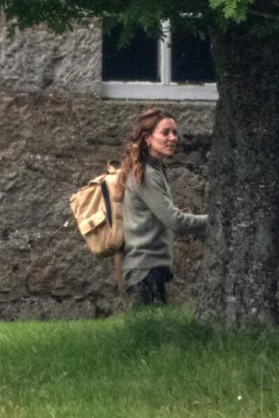 La duchesse de Cambridge au naturel pour un événement informel