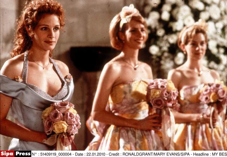 """Dans le film """"Le Mariage de mon Meilleur Ami"""", en 1997"""