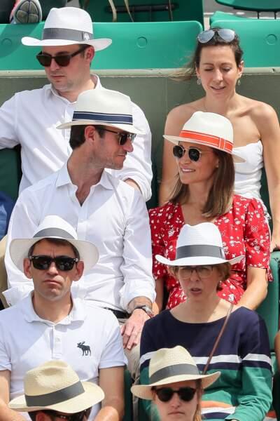 Pippa Middleton et son mari refont le match