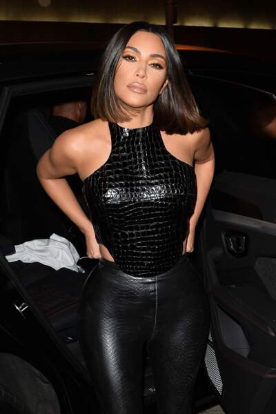 La reine de Glass Hair, Kim Kardashian West