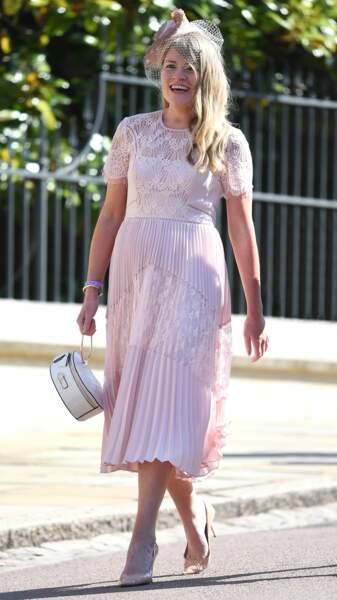 """Jusqu'à la fin de l'année, elle collaborera avec Samantha Cohen, en charge du """"royal training"""" de la duchesse."""