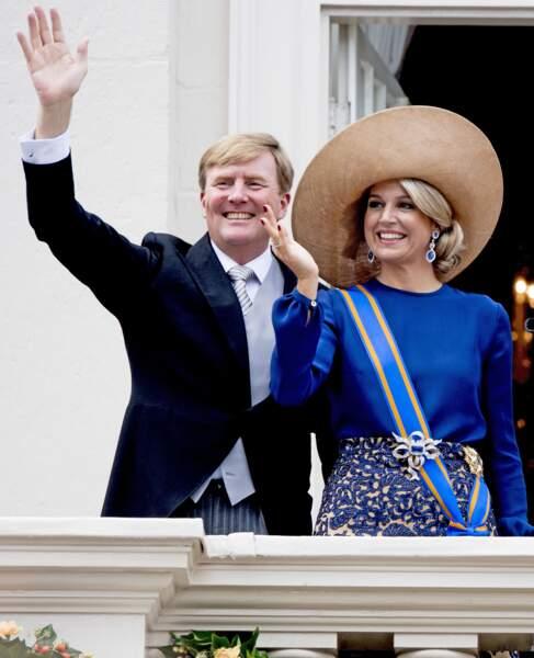 La reine Maxima des Pays-Bas à La Haye, septembre  2016           Utrecht Robin/ABACAPRESS.COM