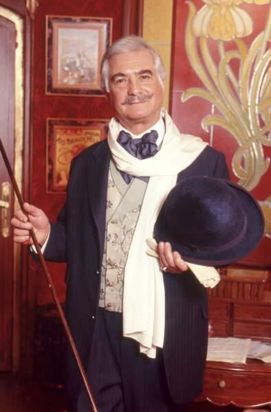 L'acteur Jean-Claude Brialy (disparu le 30 mai 2007)