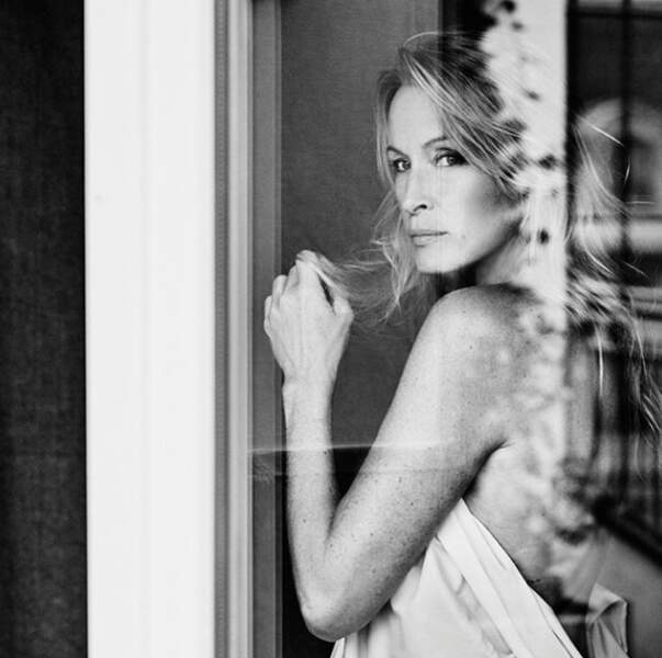Un sublime cliché en noir et blanc... légèrement dévêtu