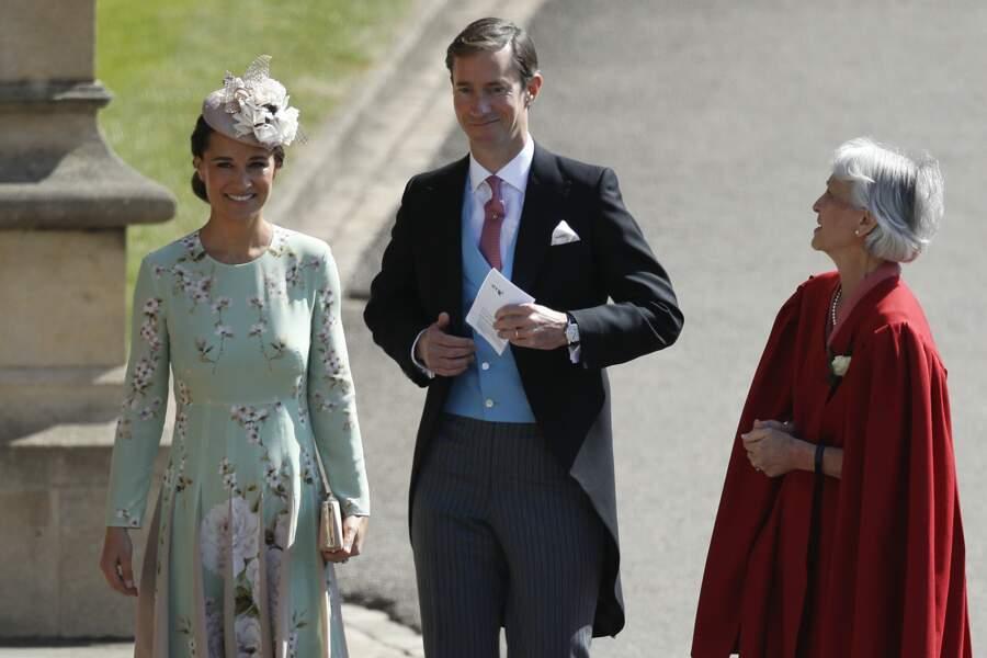 Pippa Middleton n'a pas volé la vedette à la mariée