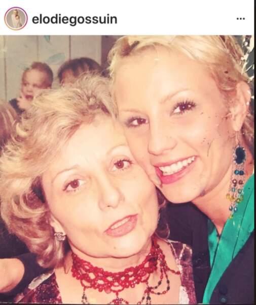 Élodie Gossuin et sa maman