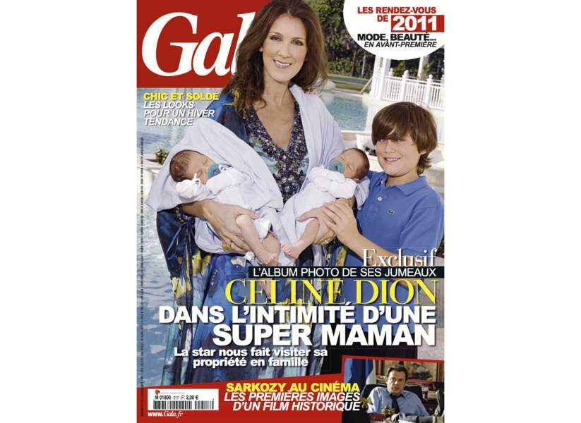 Céline Dion dans l'intimité d'une super maman
