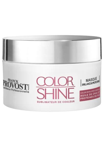Color Shine, Masque Brillance et Protection de Franck Provost Confidence Professionelle, 24 €