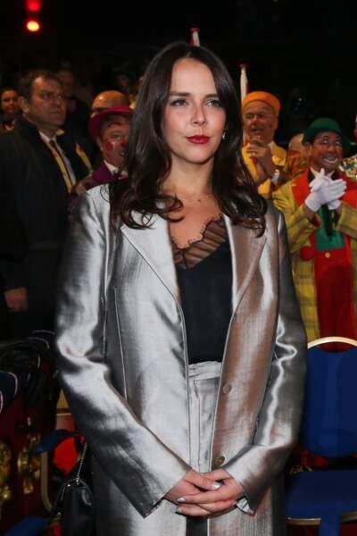 Pauline Ducruet à la soirée d'ouverture du 42ème Festival International du Cirque de Monte-Carlo