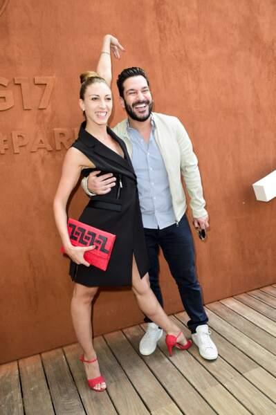 Silvia Notargiacomo et le chef Denny Imbroisi, le 5 juin 2017