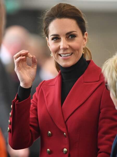Le 21 avril, Kate Middleton et le prince William avaient également rendu visite à Meghan Markle, encore enceinte