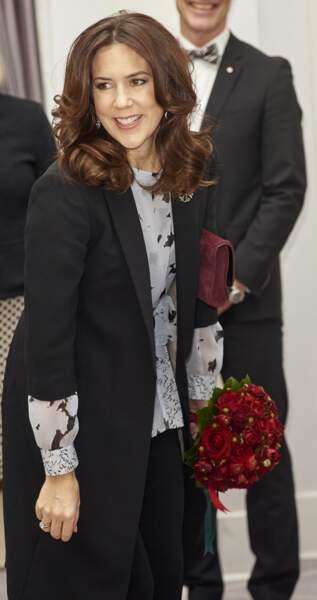 La princesse Mary à Copenhague le 17 janvier 2017